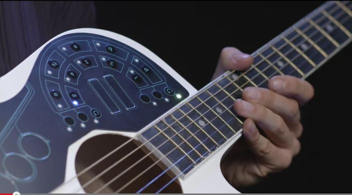 ACPAD Transforms Your Acoustic Guitar Into Electronic Orchestra